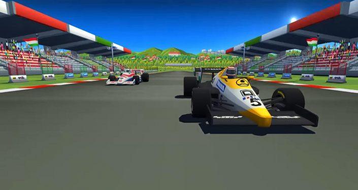 """Horizon Chase Turbo: Retro-Racer bekommt nächste Woche die """"Senna Forever""""-Erweiterung"""